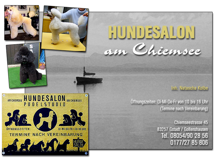 Hundesalon am Chiemsee